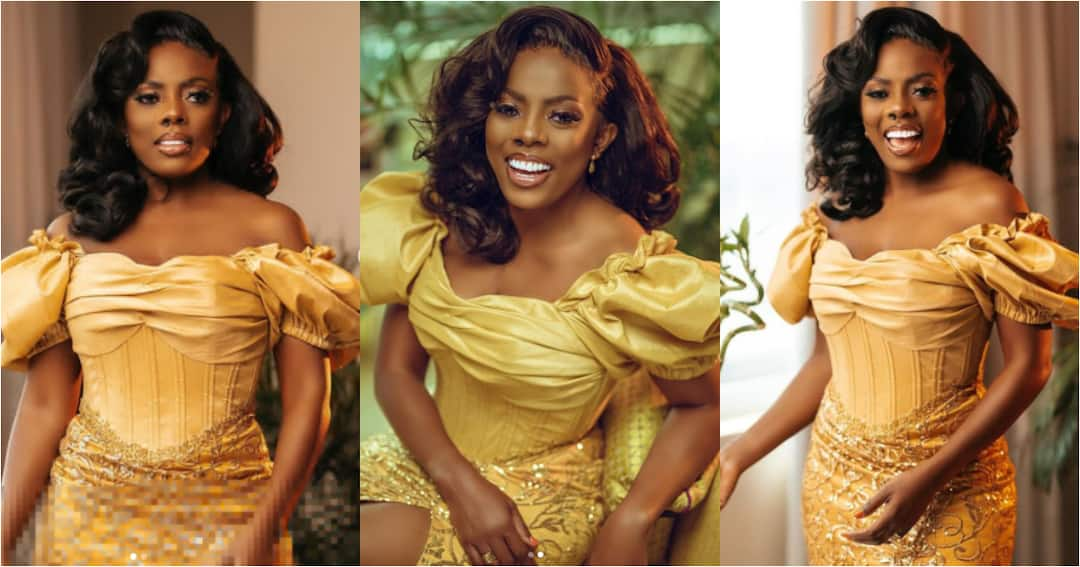 , Nana Aba Anamoah delivers stunning photos to mark her birthday, Frederick Nuetei