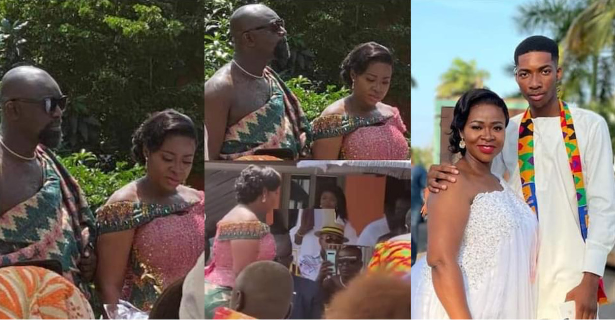 , Kumawood actress Portia Asare Boateng remarries in a beautiful traditional wedding; video and photos drop, Frederick Nuetei