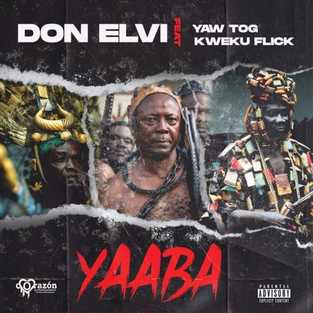 , Listen Up: Kumerican artistes Don Elvi, Yaw Tog & Kweku Flick releases a new song 'Yaaba' & it's a banger, Frederick Nuetei