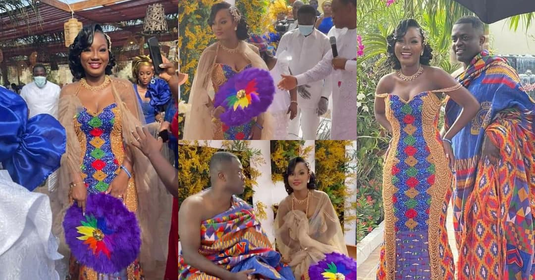 , Naa Dromo: Sam Korankye Ankrah's 2nd daughter marries in a colorful traditional wedding (Video), Frederick Nuetei