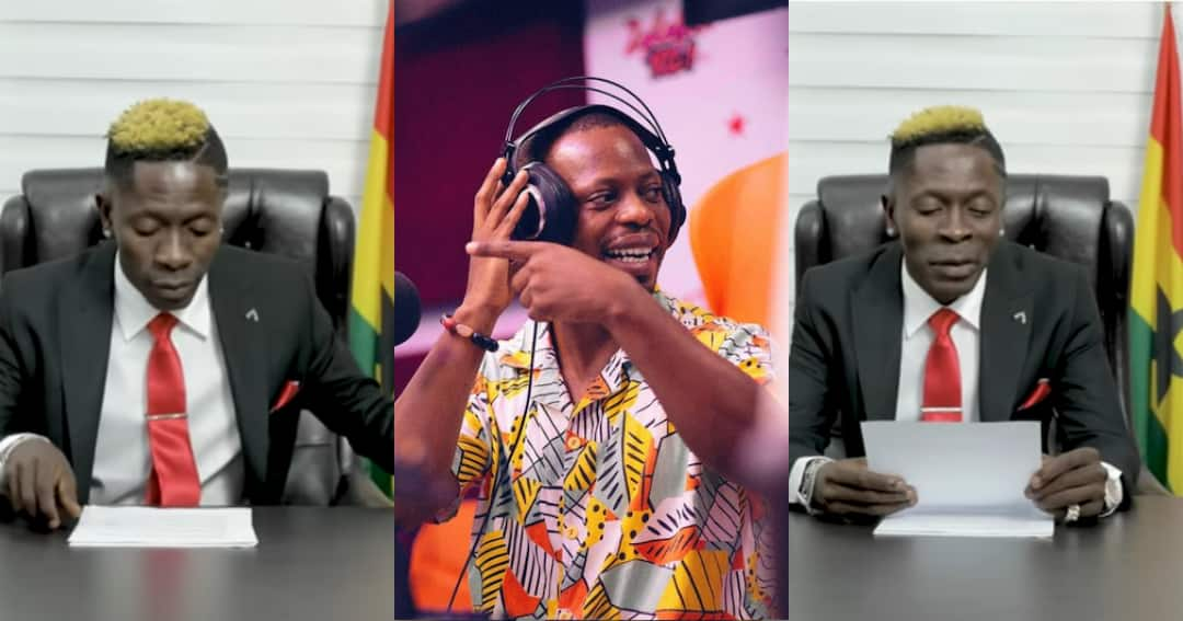 , Arnold Mensah Elavanyo reacts to Shatta Wale's #FixTheCountry outbursts, Frederick Nuetei