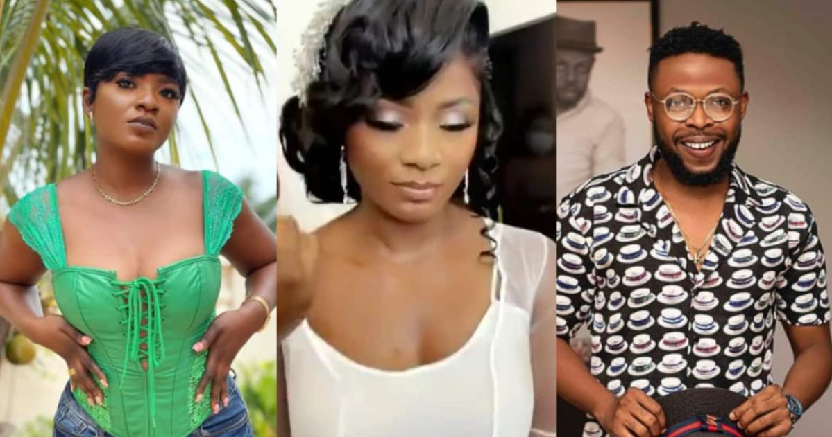 , Ahuofe Patri shares first video from her 'wedding' with Kalybos, Frederick Nuetei