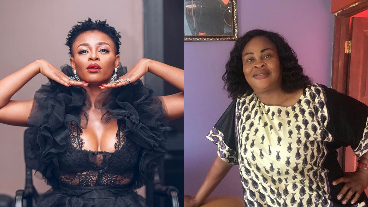 , Abiana mourns her mother in emotional statement, Frederick Nuetei