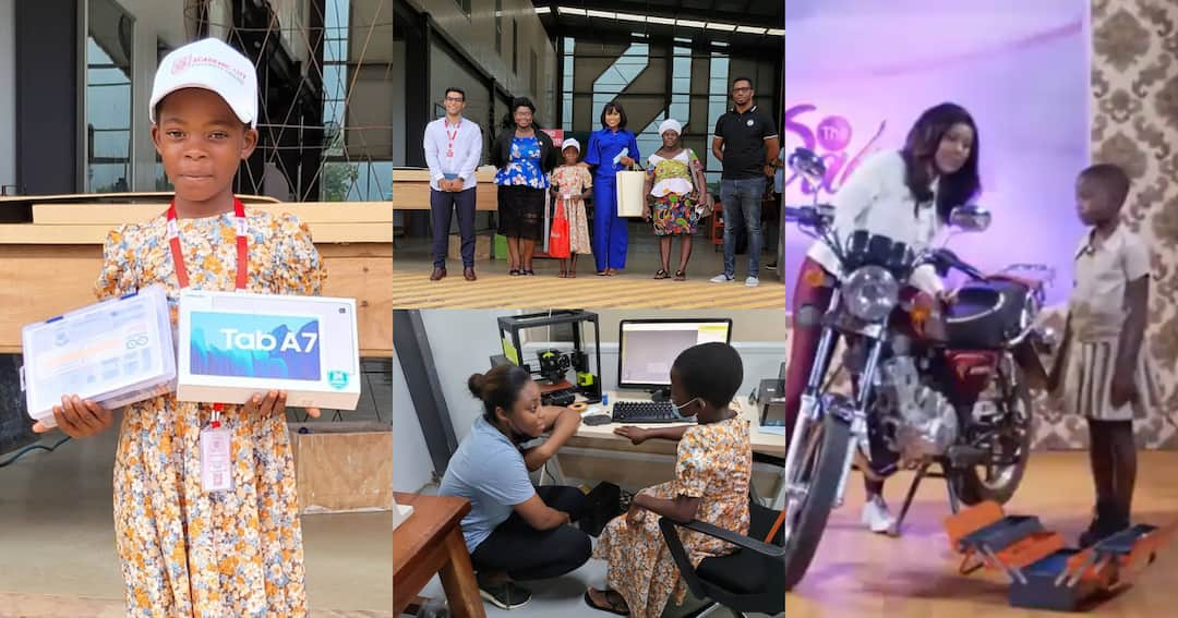 , Berla Mundi helps Ghanaian girl who started fixing motorbikes since age 3 to get massive sponsorship, Frederick Nuetei