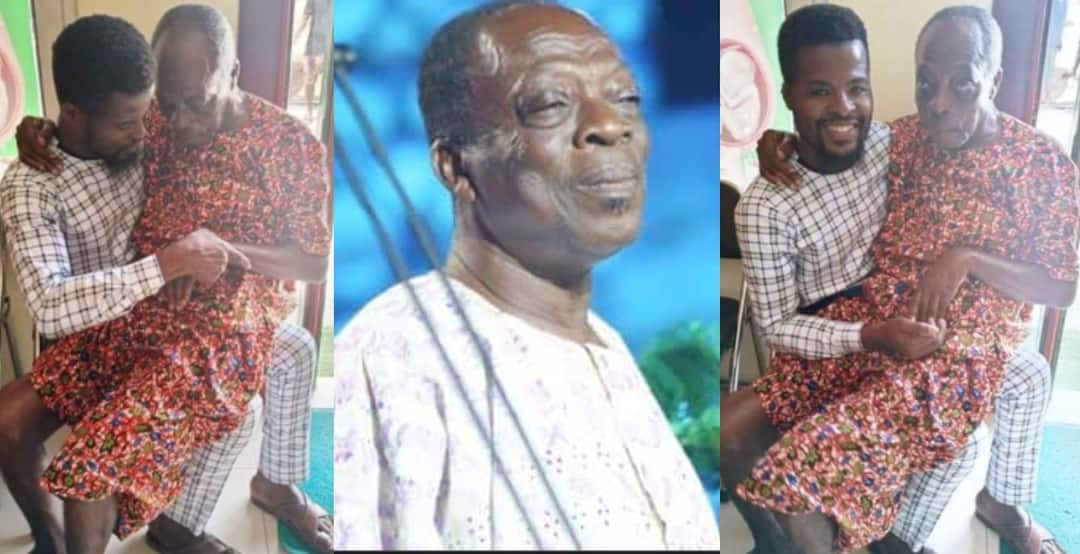 , Ghanaians express emotions after photos of unwell veteran actor Kohwe surfaces online, Frederick Nuetei