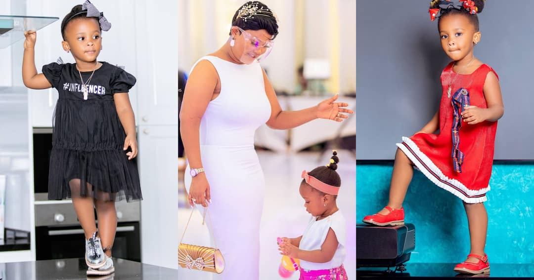 , Baby Maxin: McBrown's daughter console's mother after seeing her hand injury in new video, Frederick Nuetei