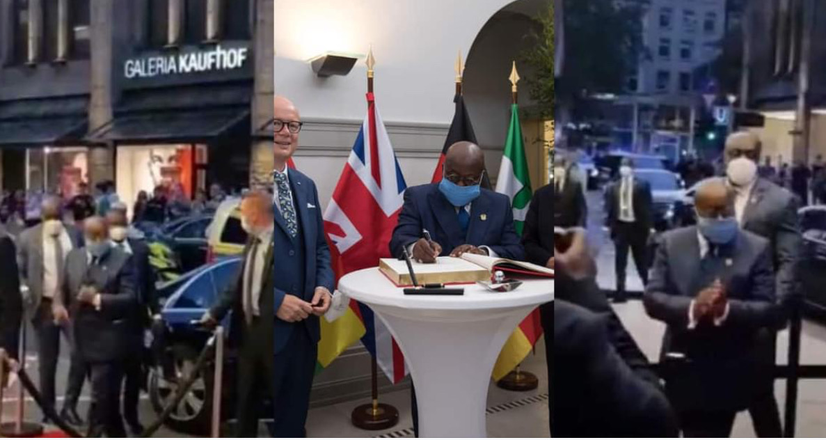 , #FixTheCountry: We want to come home – Ghanaians chant at Akufo-Addo in Germany (video), Frederick Nuetei