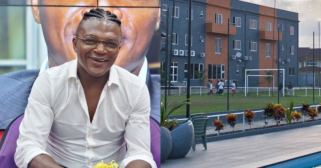 , Marcel Desailly has revealed the reason for selling Lizzy Sports Complex, Frederick Nuetei