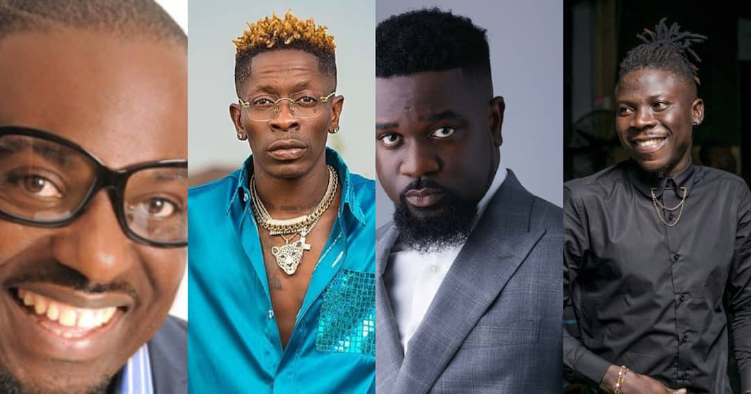 , Stonebwoy is intelligent – Jim Iyke says as he speaks about Sarkodie and Shatta Wale on KSM Show, Frederick Nuetei