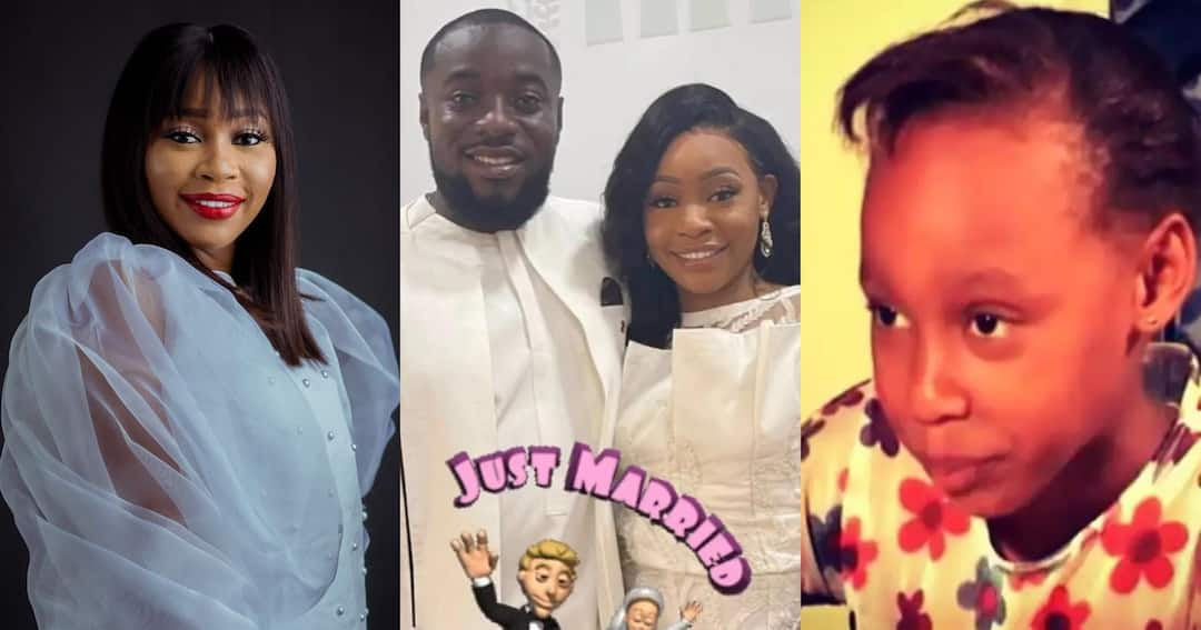 , Nina of Home Sweet Home Fame gets married; Photos drop, Frederick Nuetei