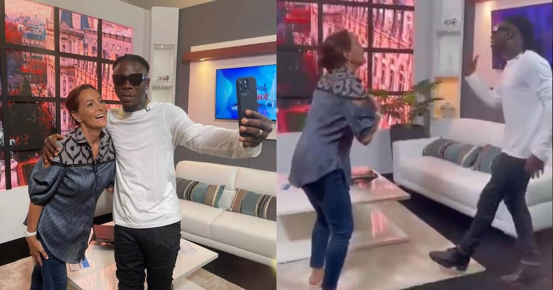 , French Ambassador to Ghana Annie Sophie Ave dances to Stonebwoy's 'Sobolo' song in video, Frederick Nuetei