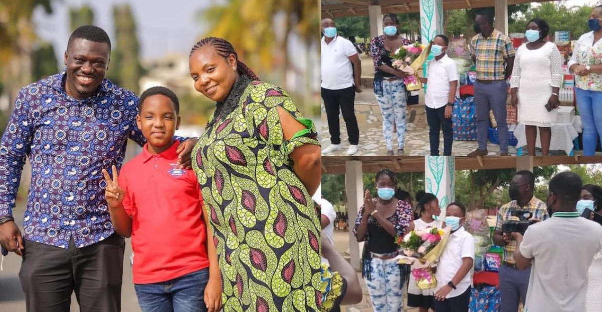 , Oswald Gennuh: Our Day Star Donates His Gifts To Orphanage (Photos), Frederick Nuetei