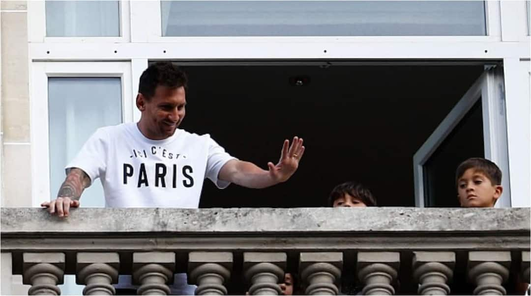 , Photos of Messi's GHC120k-a-night Paris Hotel with private cinema, restaurants, Frederick Nuetei
