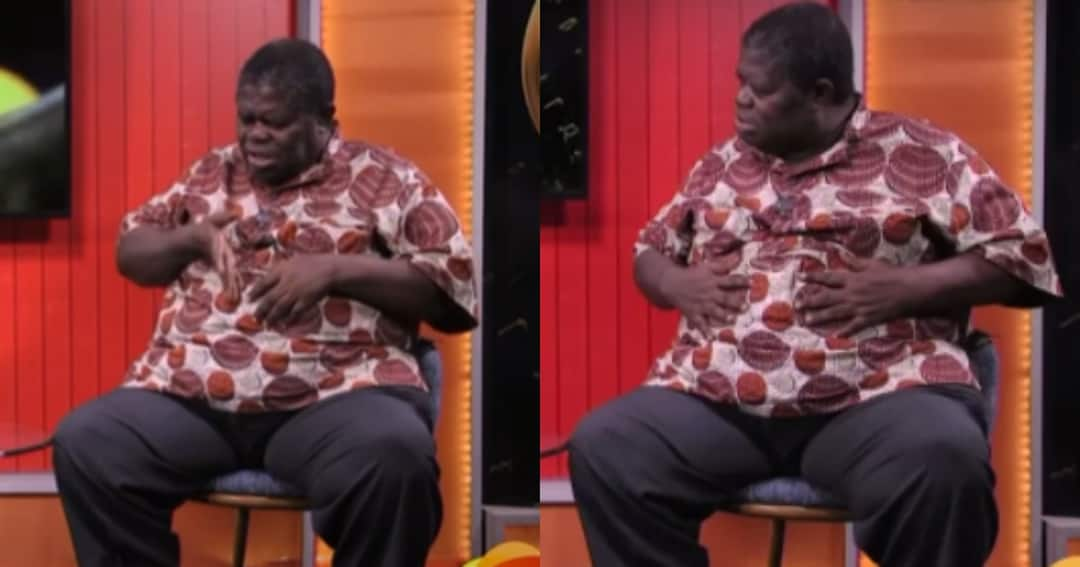 , Psalm Adjeteyfio reveals why his stomach is big in new video, Frederick Nuetei