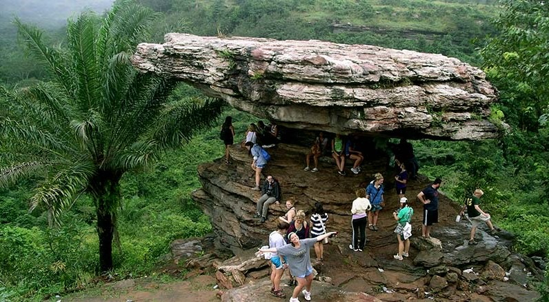 , What you need to know about the strange looking umbrella rock at Yilo Krobo, Frederick Nuetei