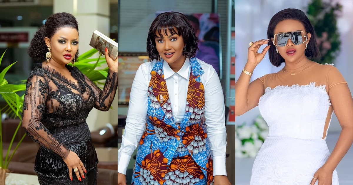 , McBrown: Actress 'begs' for prayers for her ailment; Ghanaians sad over photos showing her sick, Frederick Nuetei