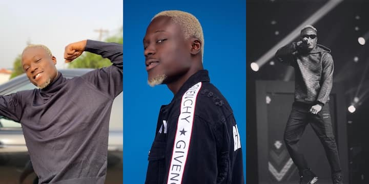 , Okese1 spotted in video throwing wads of cash on the street for his fans, Frederick Nuetei