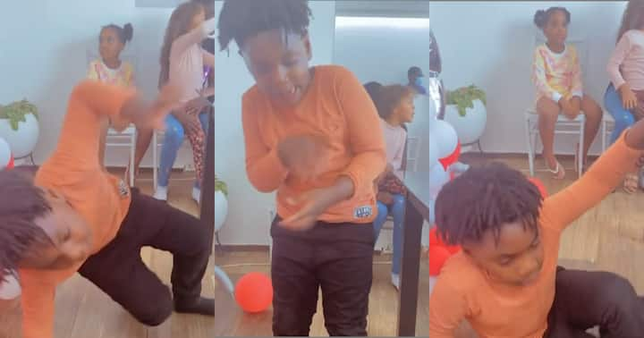 , Majesty: Shatta Wale's son makes first dance moves in new video; fans can't stop laughing, Frederick Nuetei
