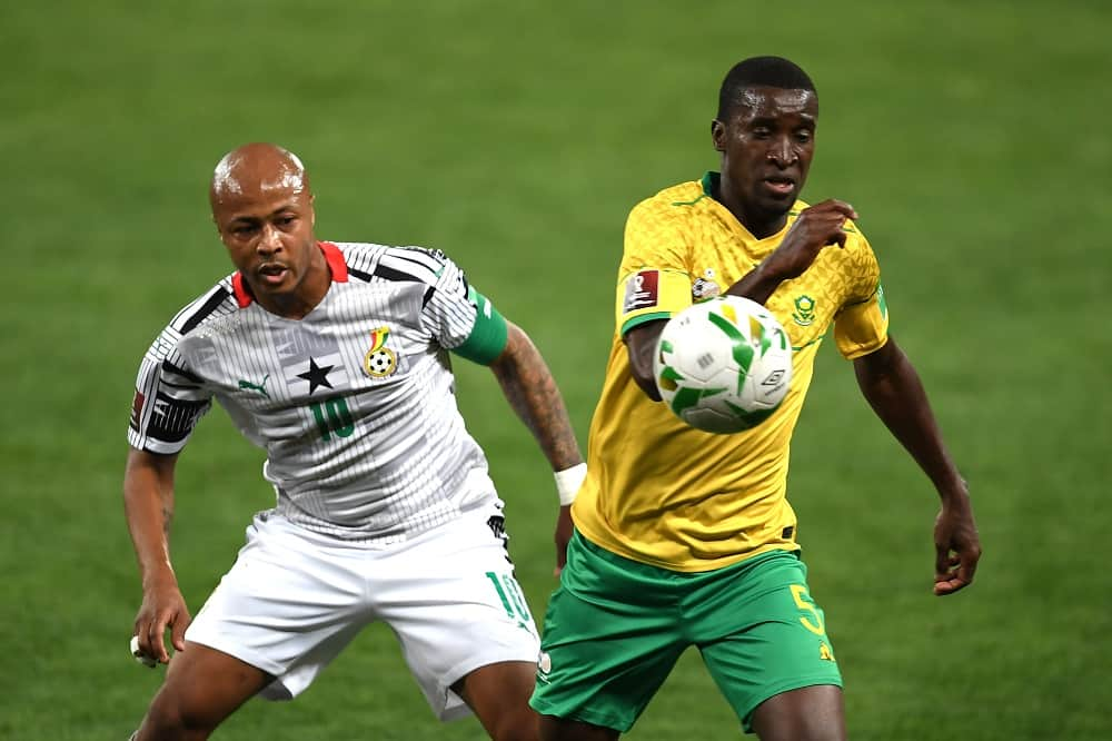 , 2022 World Cup qualifiers: South Africa score late to beat Ghana, Frederick Nuetei