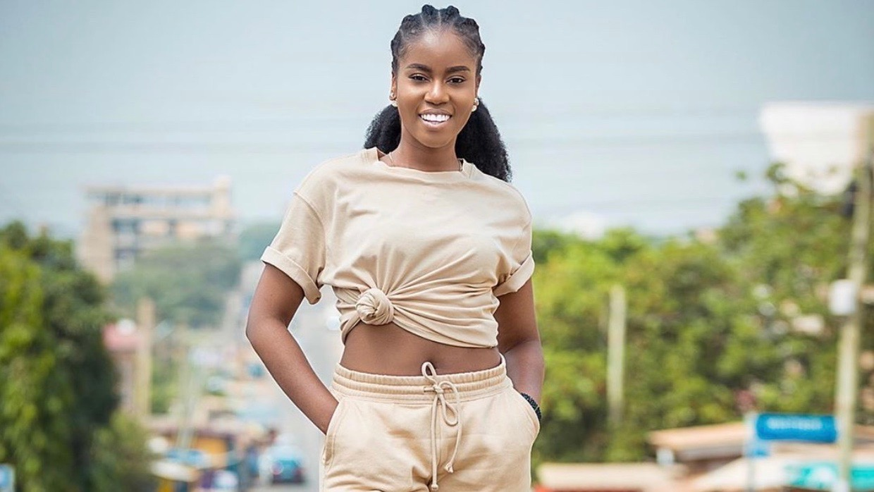 , MzVee flaunts her natural beauty in new no-makeup photos, Frederick Nuetei