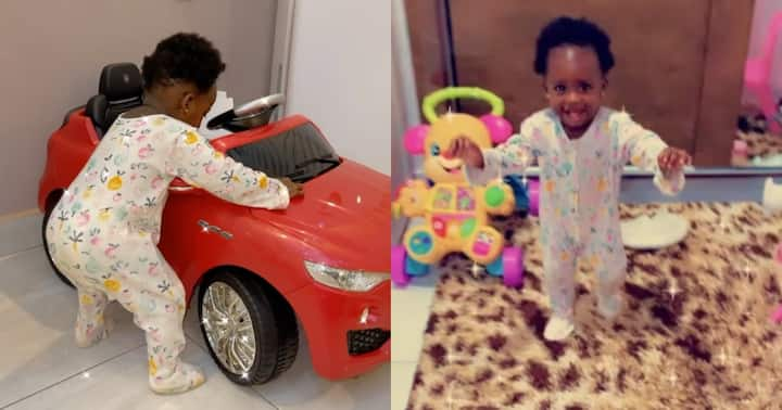 , Island Frimpong: Fella Makafui and Medikal's daughter starts walking; video warms hearts, Frederick Nuetei