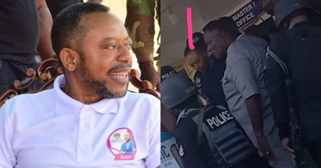 , Owusu Bempah and his macho men reportedly arrested by police; video drops, Frederick Nuetei