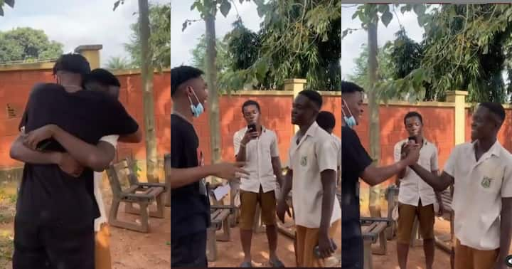 , Video drops as Yaw Tog completes SHS after writing last WASSCE paper, Frederick Nuetei