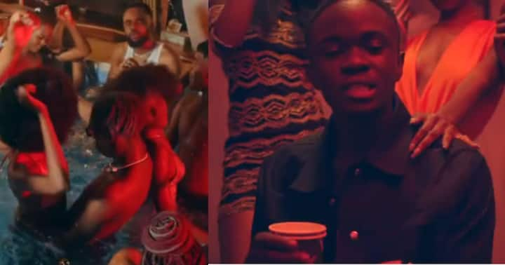 , Yaw Tog: Young rapper releases 'Party Dey' song after completing Senior High School, Frederick Nuetei