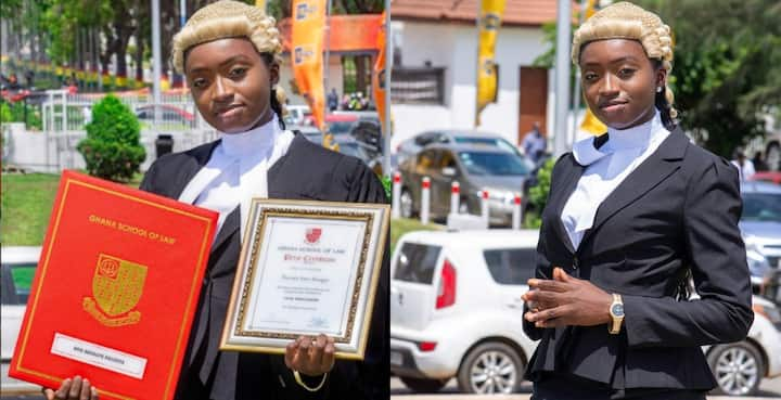 , Ama Aboagye Da Costa: Meet the brilliant Ghanaian lady who was called to the bar at 22, Frederick Nuetei