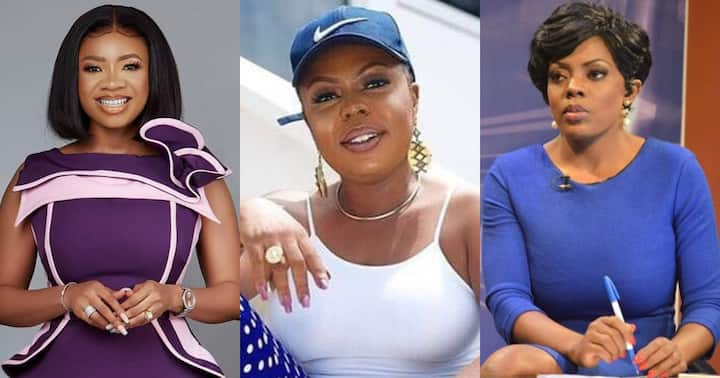 , Serwaa Amihere ignores Afia Schwarzenegger after trying to create fight between her and Nana Aba Anamoah, Frederick Nuetei